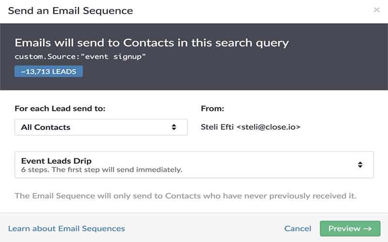 Giới thiệu về chuỗi Email: Chiến dịch Email nhỏ giọt của các nhân viên bán hàng